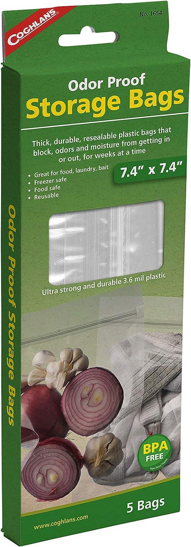 Coghlan's 1654 Odor Proof Storage Bags - 7.4