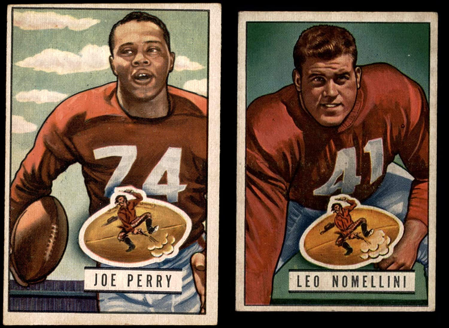 1951 Bowman San Francisco 49ers Team Set San Francisco 49ers (Baseball Set) Dean's Cards 5 - EX 49ers 81x5oe42haLSL1500_