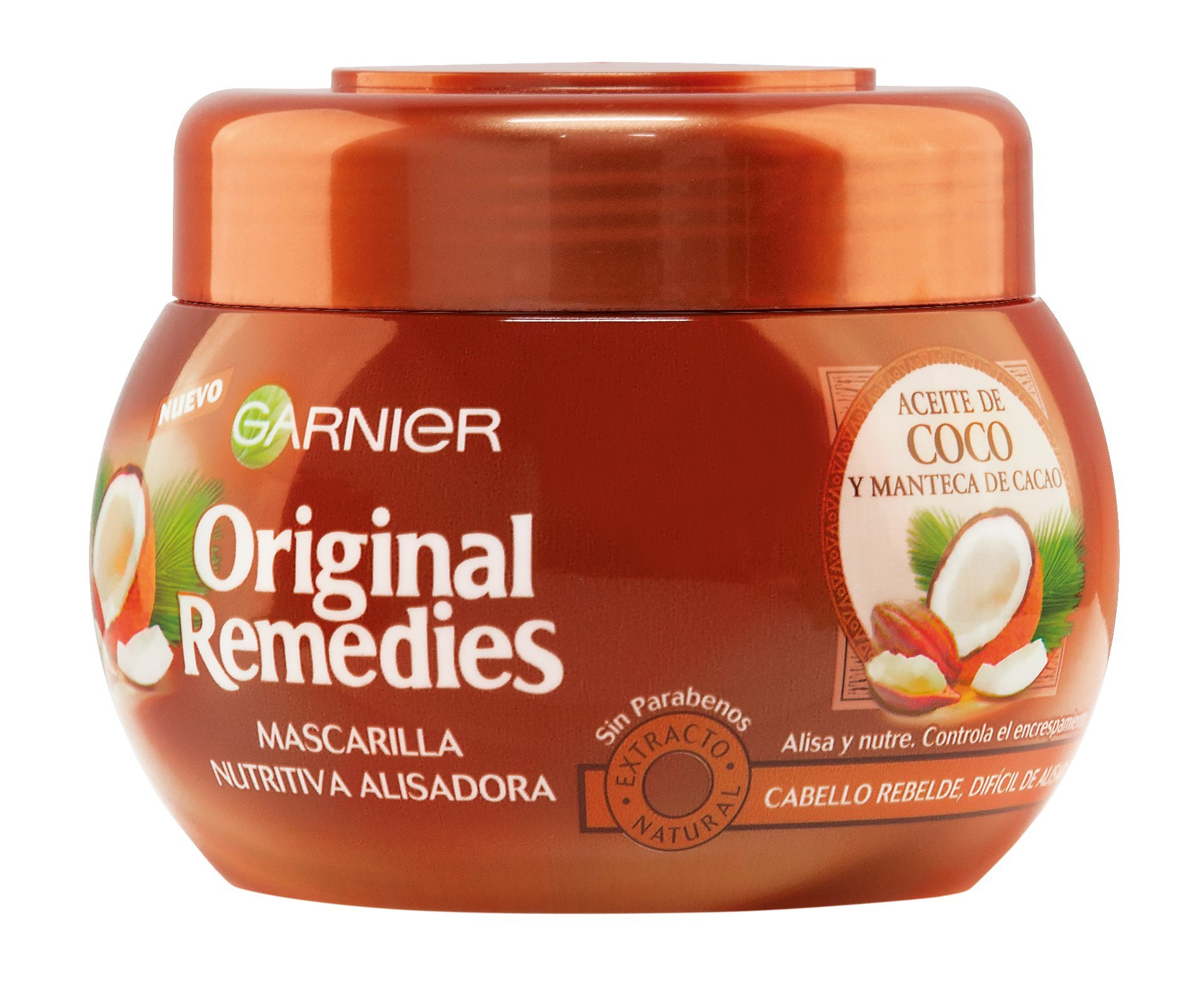 Garnier Original Remedies Mascarilla Coco - Cacao 300 ml product image