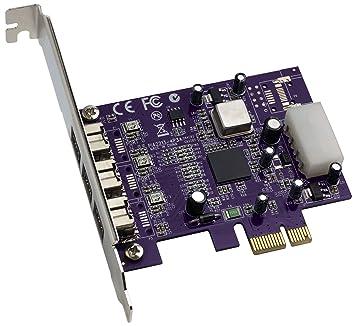 Amazon.com: Sonnet Allegro 3 Port FireWire 800 PCIe Card (FW800-E ...