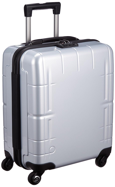 [プロテカ] 3年保証付 日本製スーツケース スタリアV 37L 機内持込可 機内持込可 保証付 37L 45cm 3.1kg 02641 B01BTQW3CQ シルバー シルバー