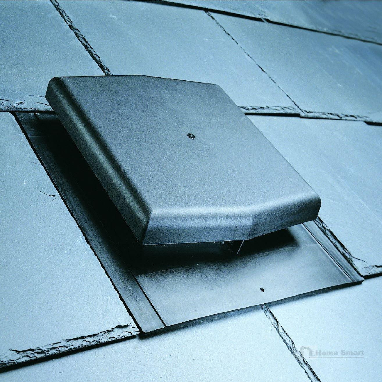 Slate Roof Tile Vent & Inline Extractor Shower Fan Kit / Ventilation ...