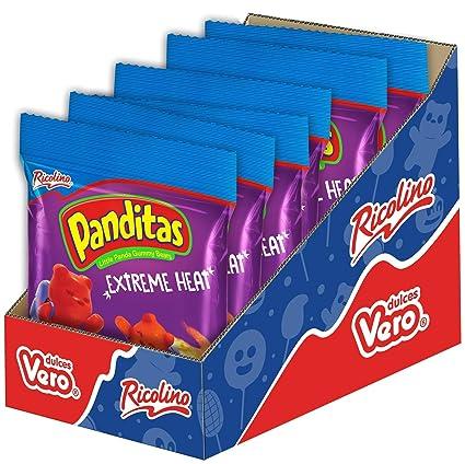 Ricolino Panditas Little Panda ositos de goma, 4.4 oz (6 ...