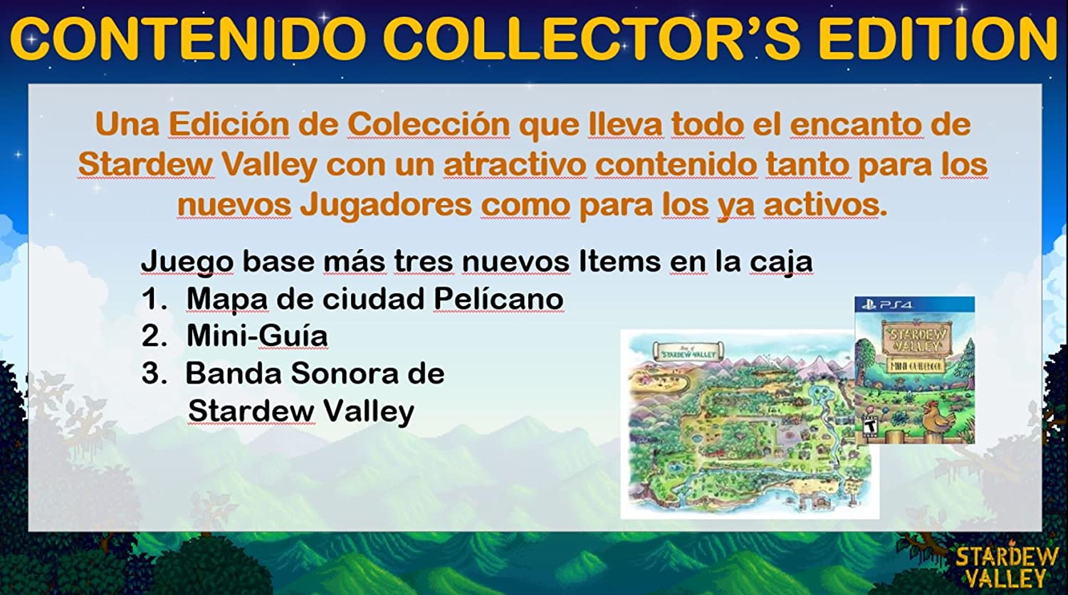 Stardew Valley Collector´s Edition: Amazon.es: Videojuegos
