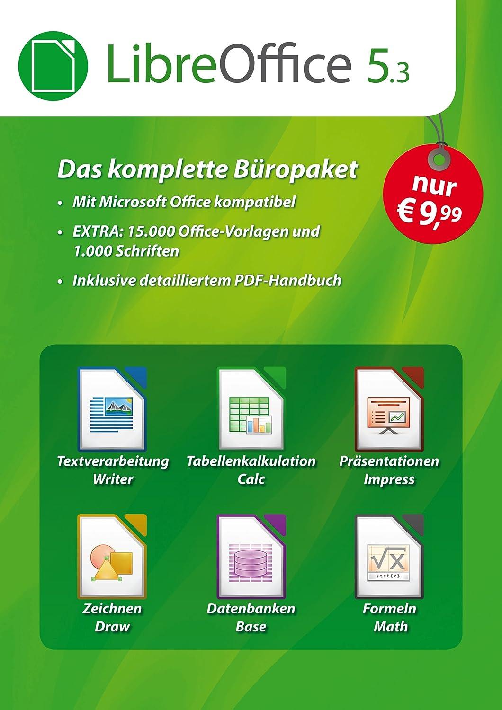 LibreOffice Software 5.3 Special Edition für Windows 10, 8.1, 7 ...