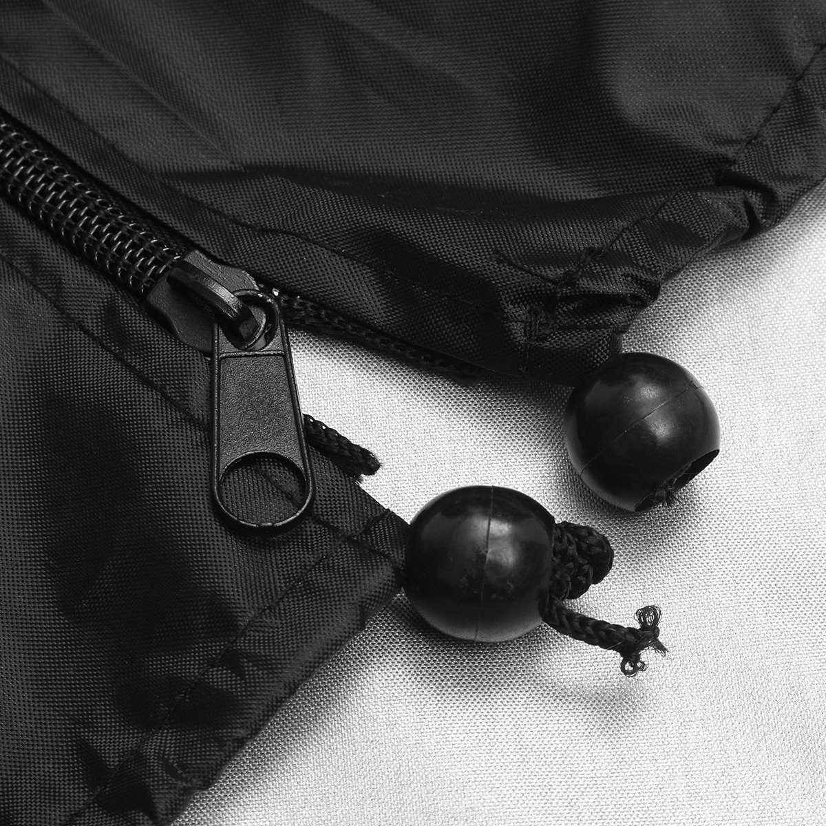 Ddanke 1 Pcs Black Outdoor Patio Umbrella Cover Heavy Duty