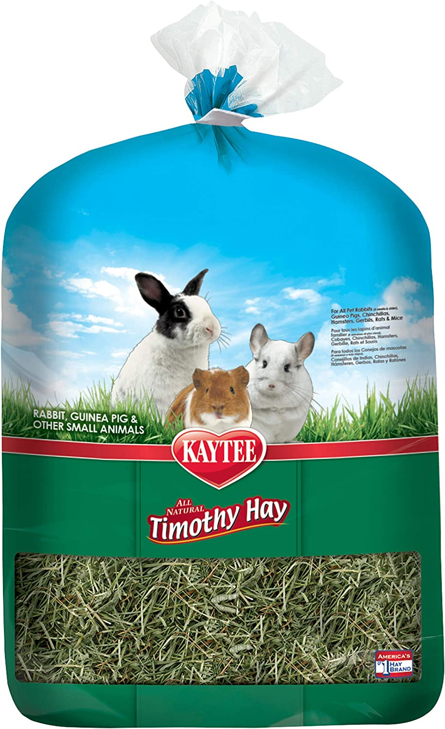 Kaytee Timothy Hay, 12 pounds : Pet Supplies