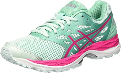 Asics Gel-Cumulus 18 GS, Zapatos Deportivos Infantil, Multicolor (Soothing Sea/Sport Pink/Cockatoo), 40 EU: Amazon.es: Zapatos y complementos