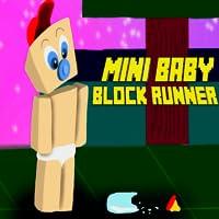 Mini corredor de bloques para bebés