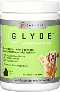 Parnell 60 Count Glyde Mobility Chews for Dogs