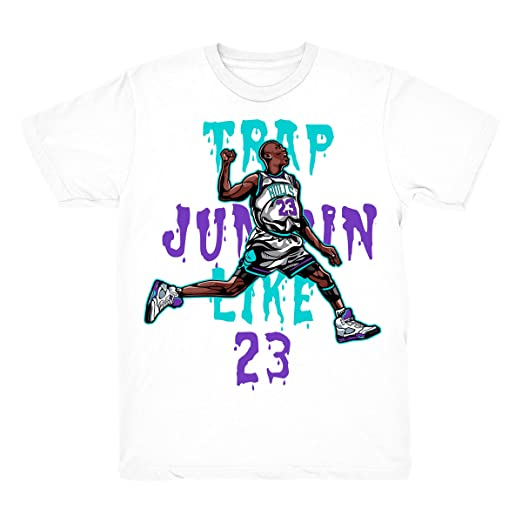 e514500b7b969 Amazon.com: Grape 5 Trap Jumpin' Shirt to Match Jordan 5 Grape Fresh ...