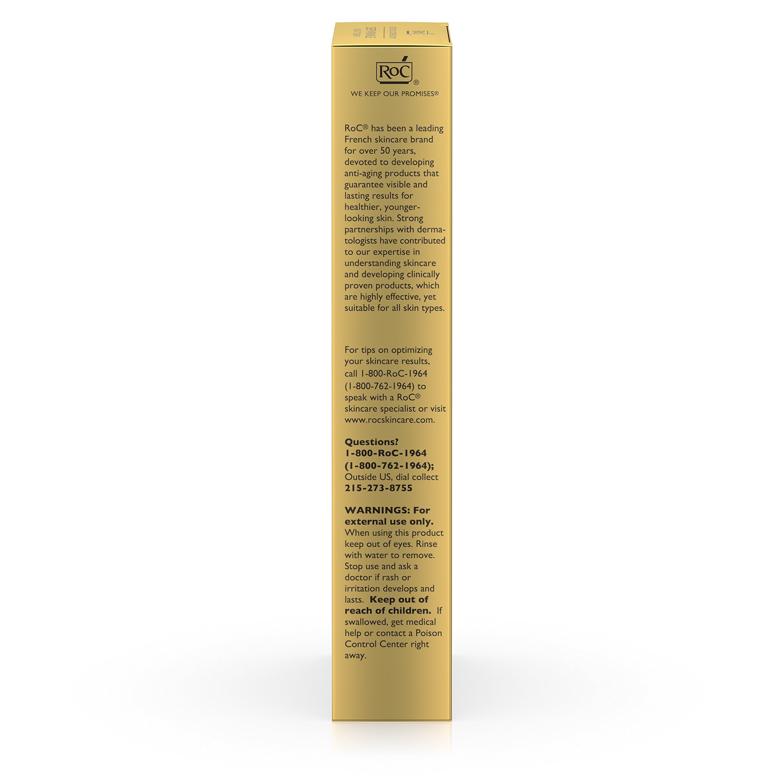 RoC Retinol Correxion Deep Wrinkle Anti-Aging Retinol Night Cream, Oil-Free and Non-Comedogenic, 1 oz by RoC (Image #10)