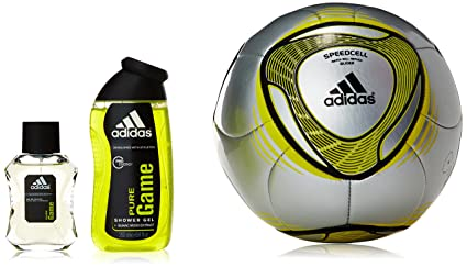 Adidas Pure Game Set Agua de Colonia - Estuche + Balon