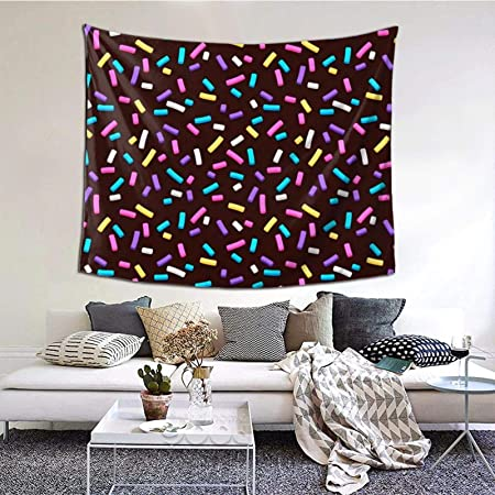 Perfect Household Goods Sprinkles Seamless Pattern Tapestry Wall Art Hanging Home Living Room Bedroom Decor 60 51inch Amazon Co Uk Kitchen Home