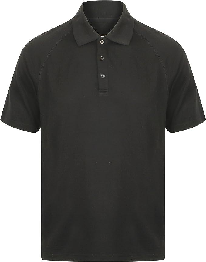 EDZ Merino Mens Polo Shirt 200gsm Denim Blue