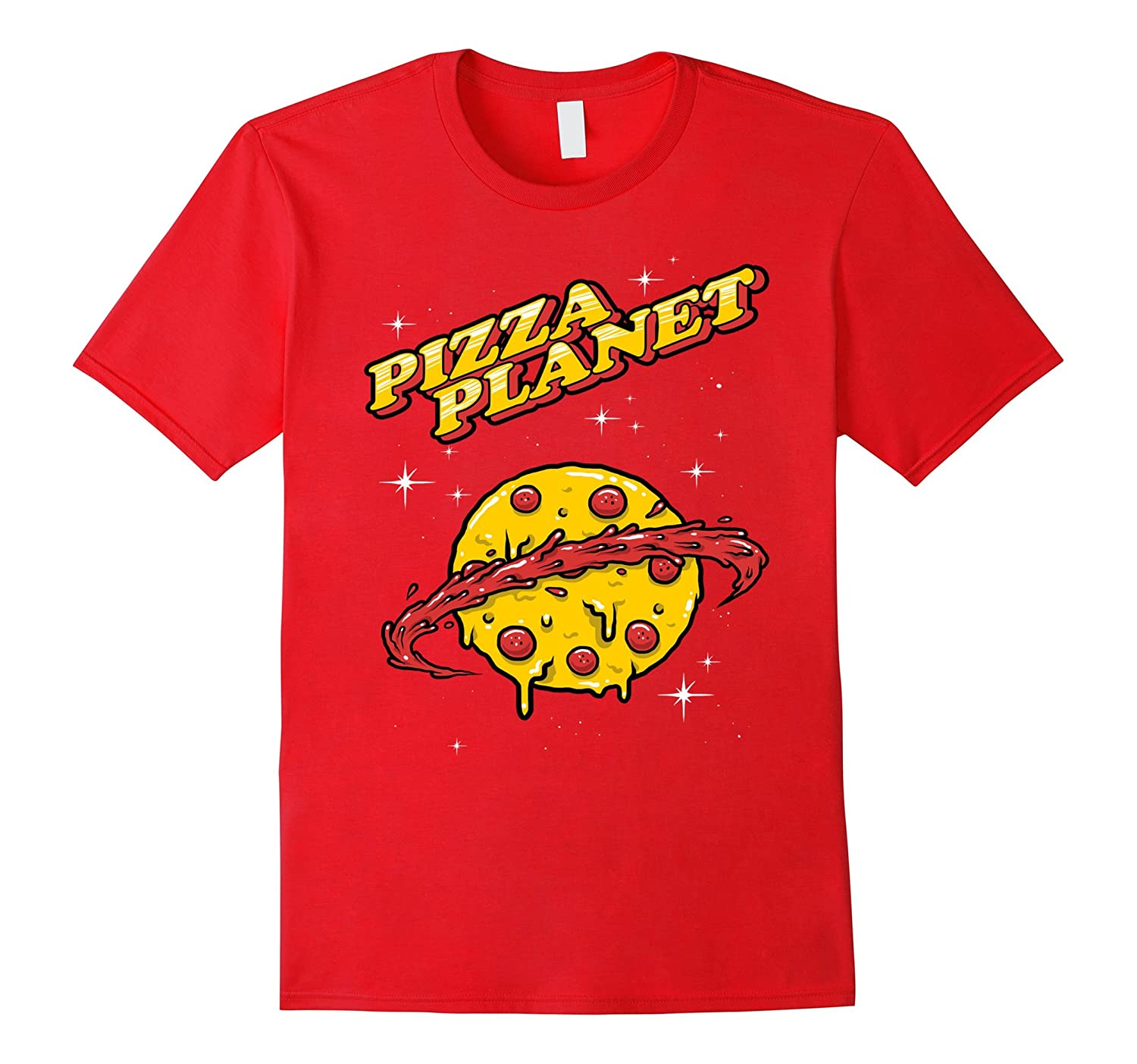 Pizza Planet Funny T-Shirt-Art