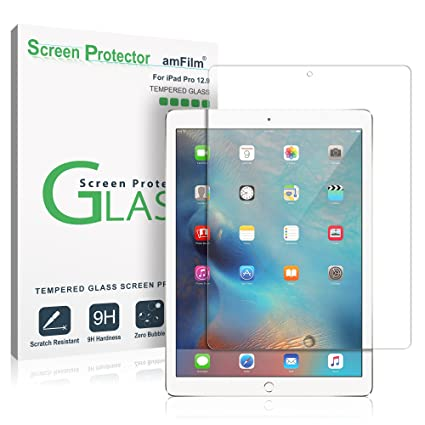 Amazon Com Ipad Pro 12 9 Screen Protector Glass 1st And 2nd