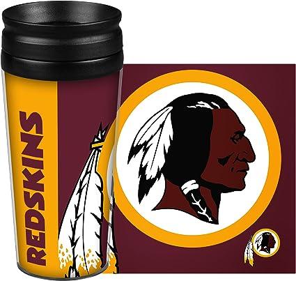 14 Ounce Team Color Boelter Brands NFL Washington Redskins 14 Ounce Travel TumblerFull Wrap Hype