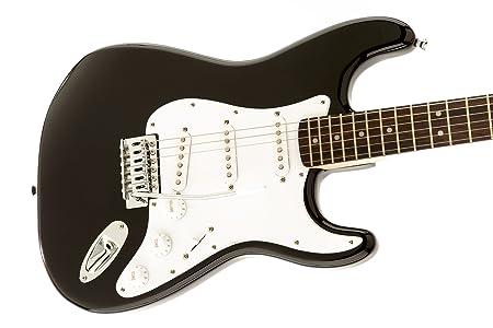 Fender Squier Bullet Strat with Tremolo BK Guitarra Eléctrica: Amazon.es: Instrumentos musicales