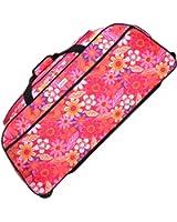 Karabar Budva 33 Inch Wheeled Travel Bag, Pink Floral
