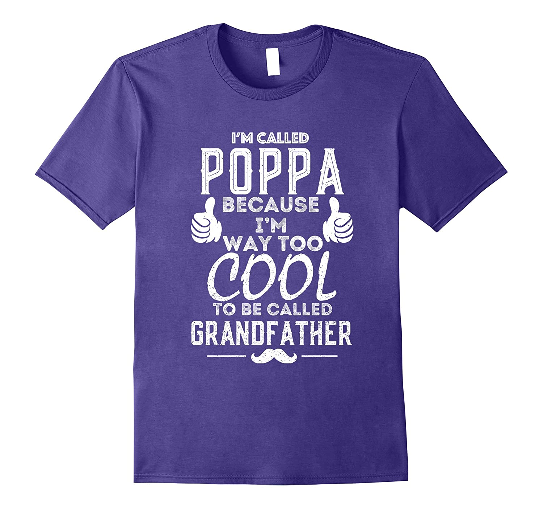 Fathers Day Gift Poppa t-shirt-Vaci