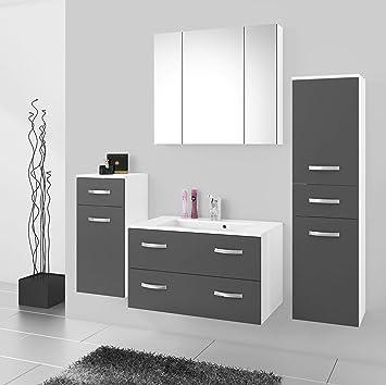 Küchen-Preisbombe Badmöbel Badezimmer Regina 5tlg Set in ...