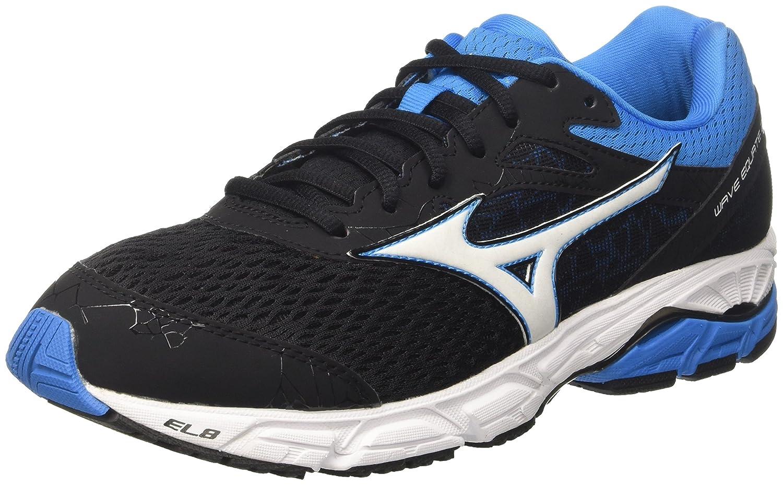 Mizuno Wave Equate 2, Zapatillas de Running para Hombre 42.5 EU|Multicolor (Black/White/Divablue 01)