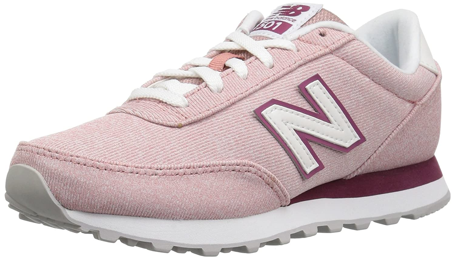 New Balance Women's 501v1 Sneaker B0751FKYCR 5.5 B(M) US|Dusted Peach/Dragon Fruit