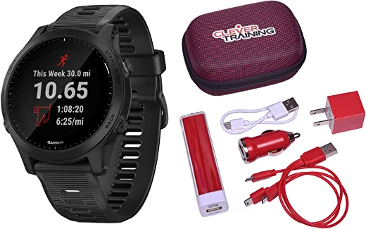 Clever Training Garmin Forerunner 945 Black Power Bundle
