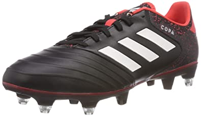 COPA 18.3 SG - Fußballschuh Stollen - core black/footwear white/real coral