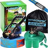 Slackline Kit 70' W/ Training Line - Slack Lines For Backyard For Adults - Slackline For Kids - Slackline Beginner Kit…