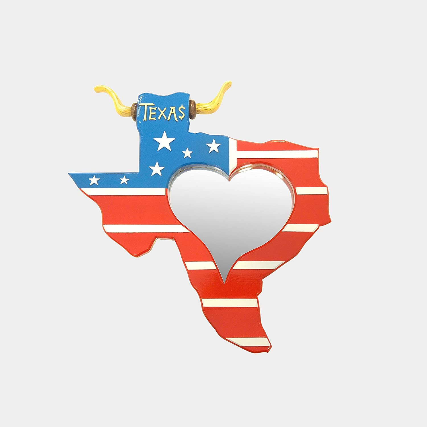 Amazon Com Texas State Map Mirror A Wonderful And Simple Styled