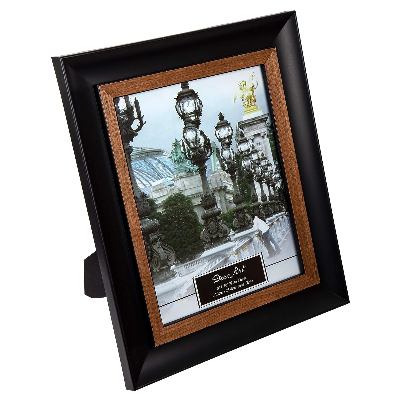 Truu Design, Picture Frame, 8 x 10 inches Black, Beige CTG Brands 65034