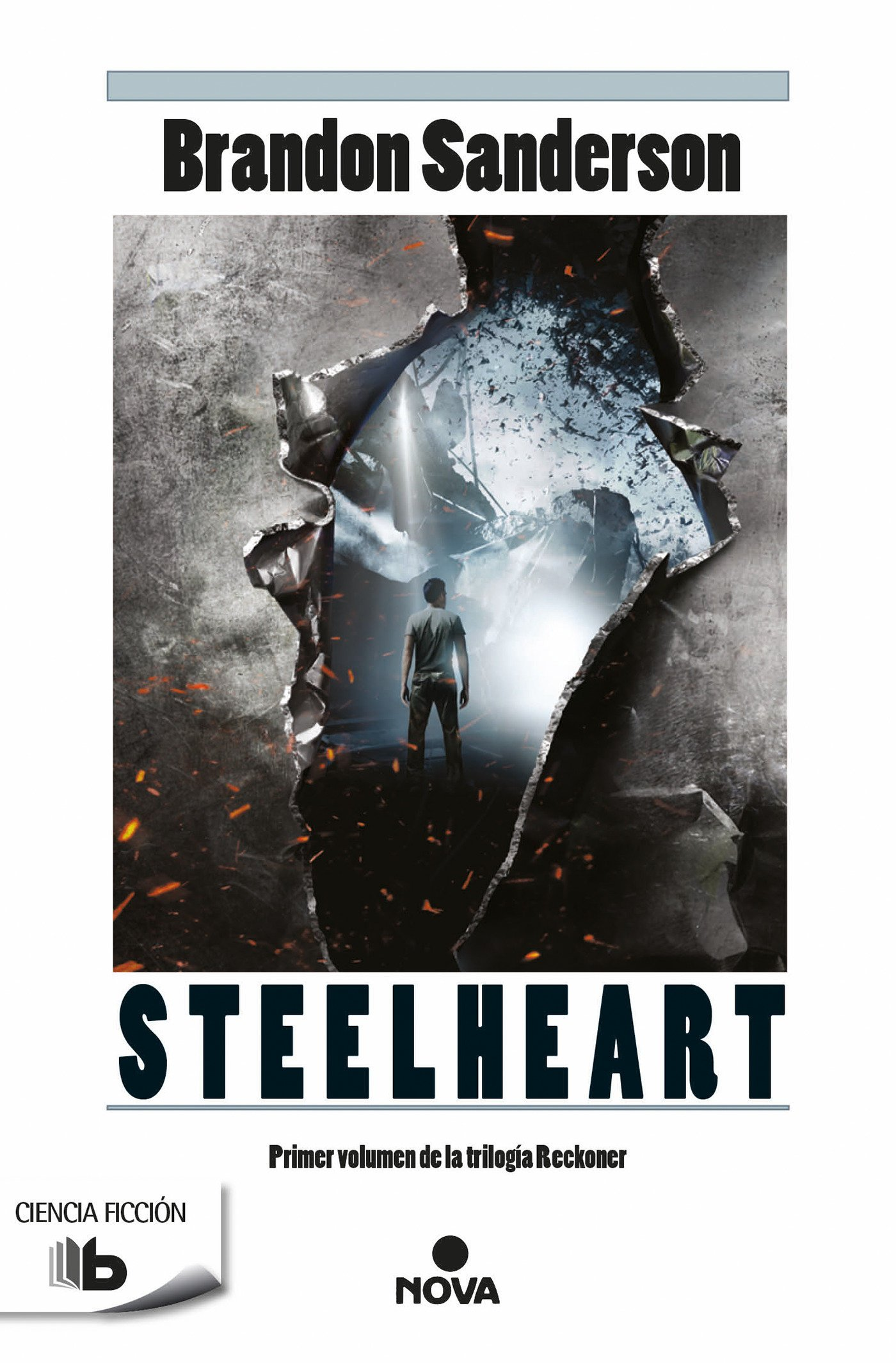 Steelheart (Trilogía de los Reckoners 1) (B DE BOLSILLO) Tapa blanda – 10 jun 2015 Brandon Sanderson Bbolsillo 8490700958 Guerrilla warfare; Fiction.