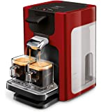 Philips Senseo Quadrante HD7865/80 Kaffeepadmaschine (XL-Wassertank) rot