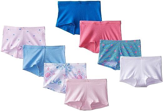 c98bdb78f23 Amazon.com: Hanes Girls Boyshort (Pack of 8): Clothing