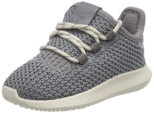 check out 6f074 584ce adidas Unisex Babies  Tubular Shadow Low-Top Sneakers, Grey (Grey Three
