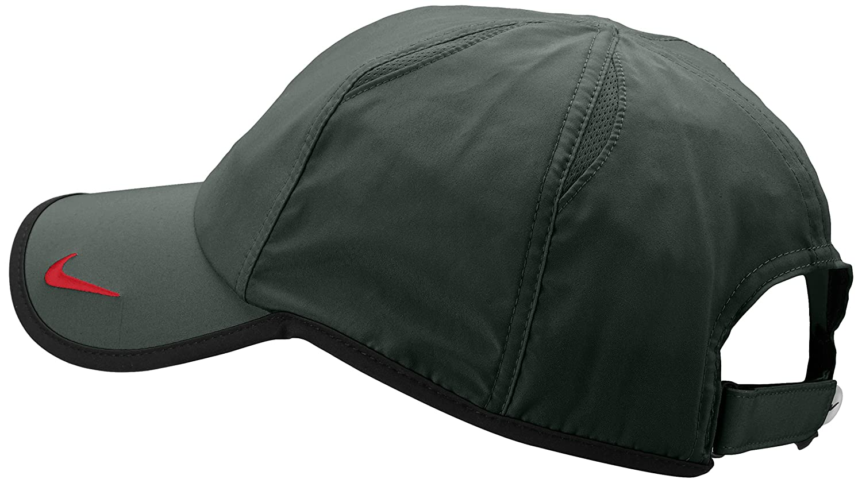 62a2aef6 Nike Premier Rafa Bull Logo Cap Green Dk Mica Green/Black/Lt Crimson  Size:One Size: Amazon.co.uk: Sports & Outdoors
