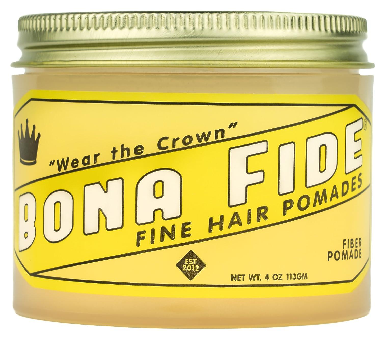 Bona Fide Pomade, Fiber Pomade, 4 oz.