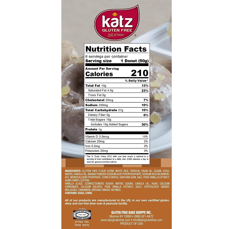 Katz - Donut sin gluten: Amazon.com: Grocery & Gourmet Food