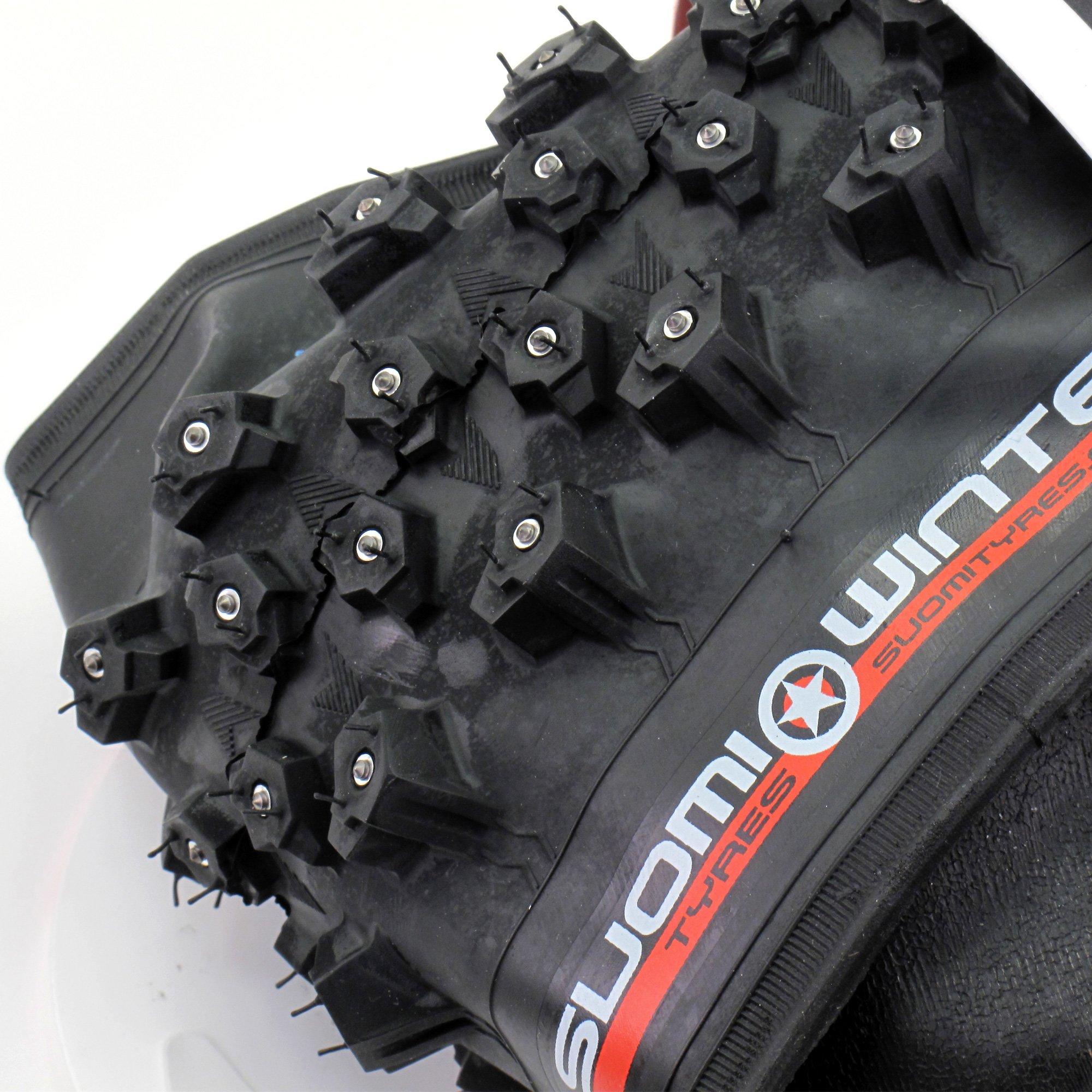 Suomi TR7133 WXC'R 312 27.5x2.25'' Studded Bike Tire // 312 Studs // Folding by Suomi (Image #2)