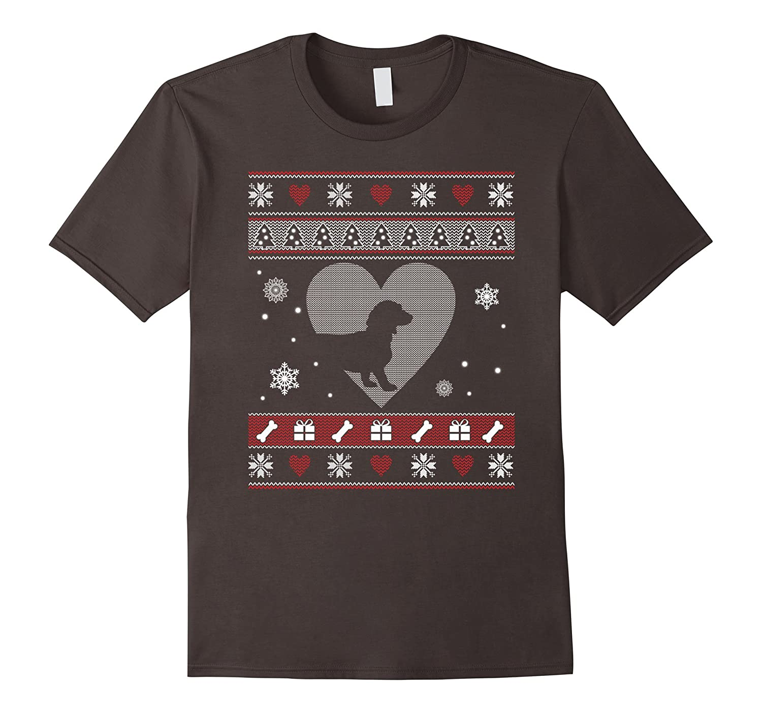 Dachshund Merry Christmas Shirts Happy New Yeah 2018