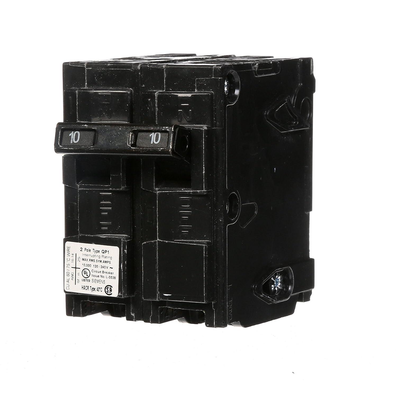 Q210 10-Amp Double Pole Type QP Circuit Breaker Siemens -HI