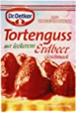 Dr Oetker Tortenguss rot, Erdbeer (red strawberry cake glaze) 36g / 1.27oz