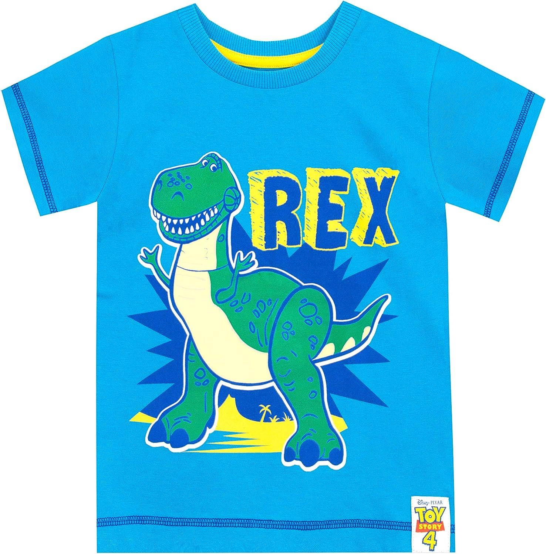 Disney Maglietta Maniche Corta per Ragazzi Toy Story Rex
