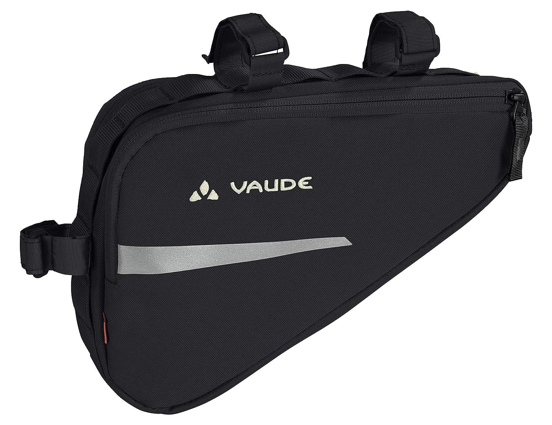 VAUDE Triangle Bag Alforja, Unisex Adulto, Negro, Talla Única 12711
