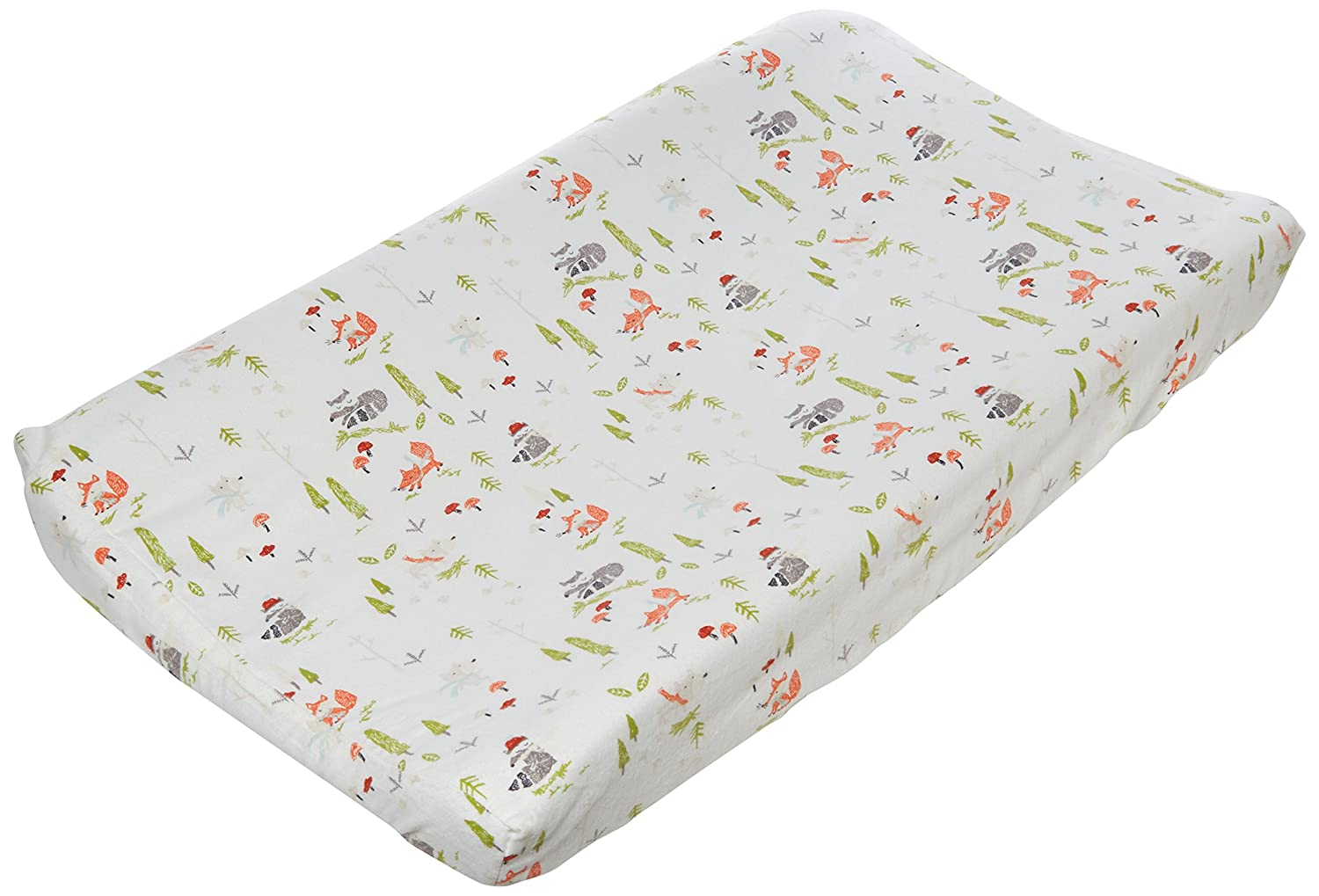 Trend Lab Winter Woods Deluxe Flannel Changing Pad Cover 101386