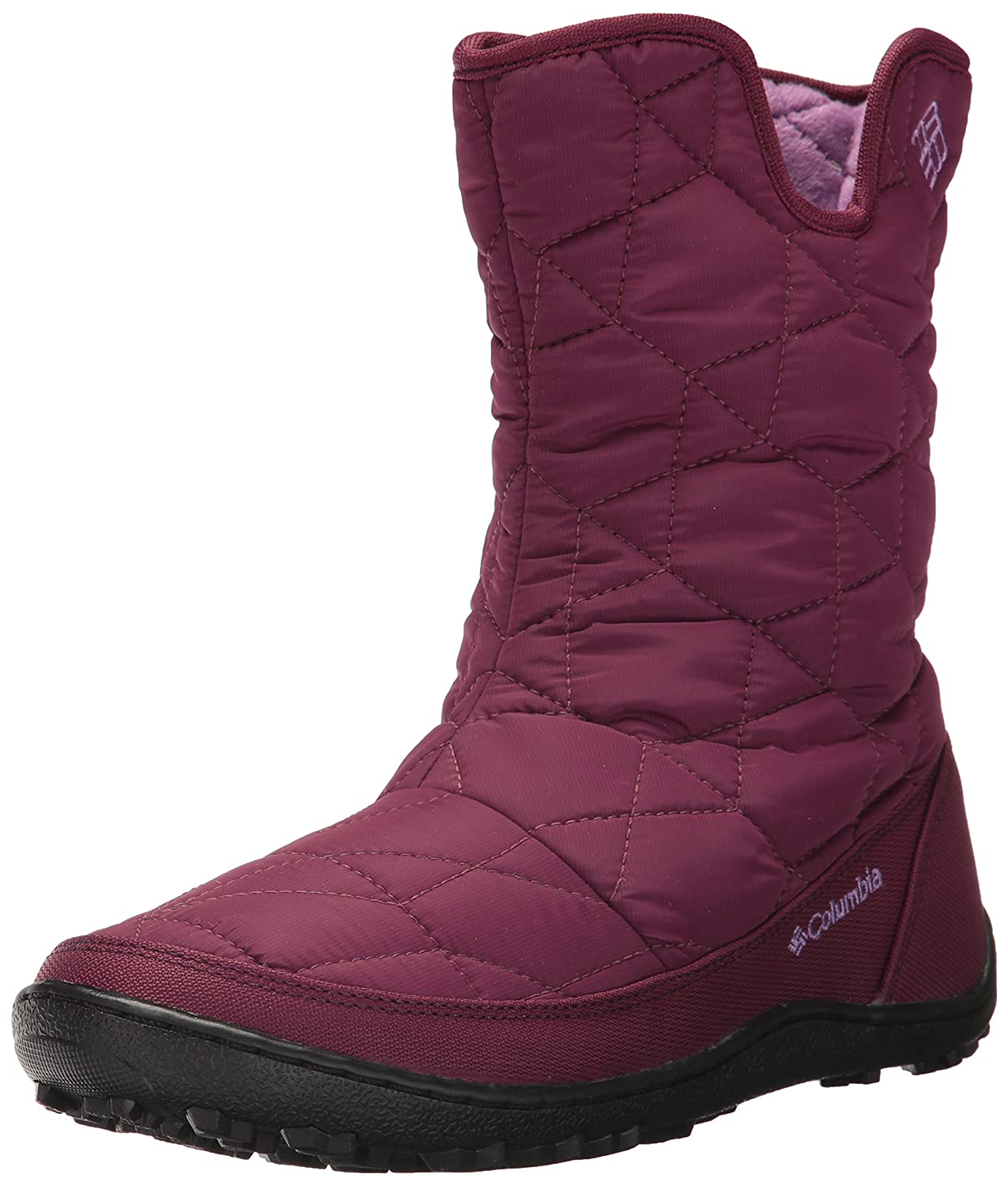 Columbia Women's Minx Slip Ii Omni-Heat Snow Boot B01N362RD8 9 B(M) US|Dark Raspberry, Northern Lights