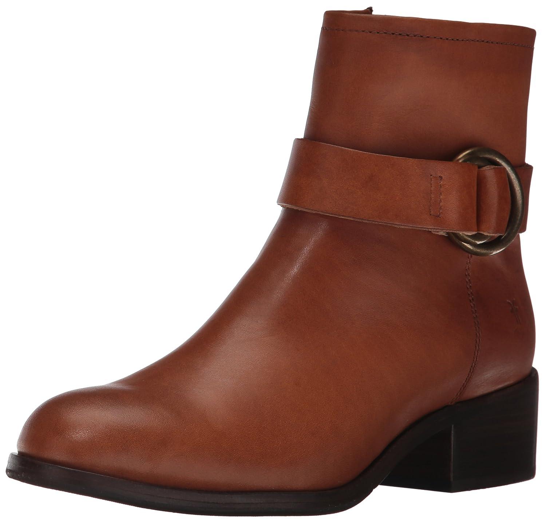 FRYE Women's Kristen Harness Short Boot B01N4GEW04 11 B(M) US|Brown Smooth Vintage Leather