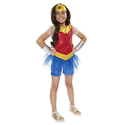 DC Super Hero Girls Everyday Dress-Up Outfit, Wonder Woman: Toys & Games
